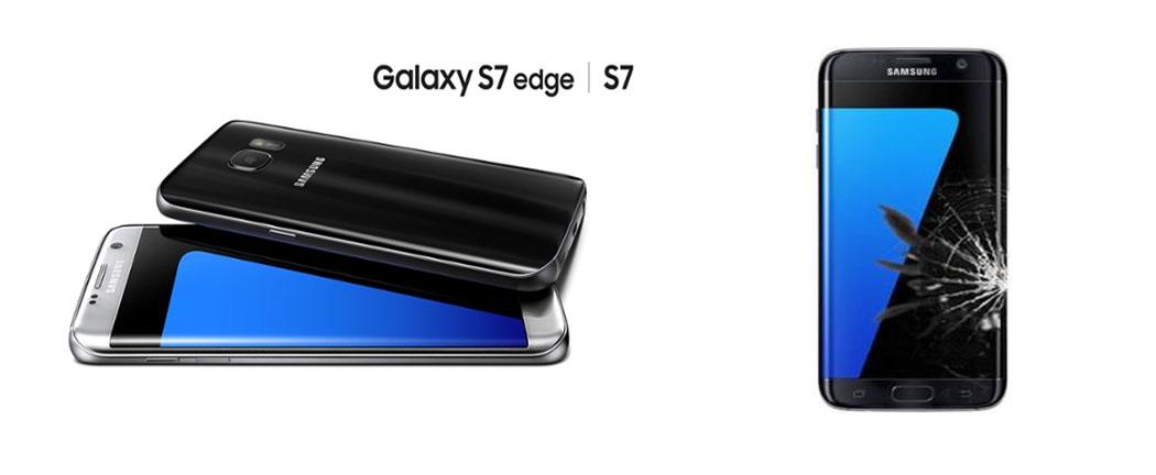 Samsung Galaxy S7 ve S7 Edge Cam ve Ekran Değişimi Ümraniye
